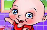 Bebek Çamaşır Yıkama Oyunu