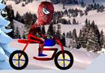 Bisikletli Örümcek Adam Oyunu