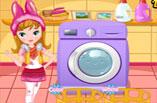 Çamaşır Yıkama ve Kurulama Oyunu